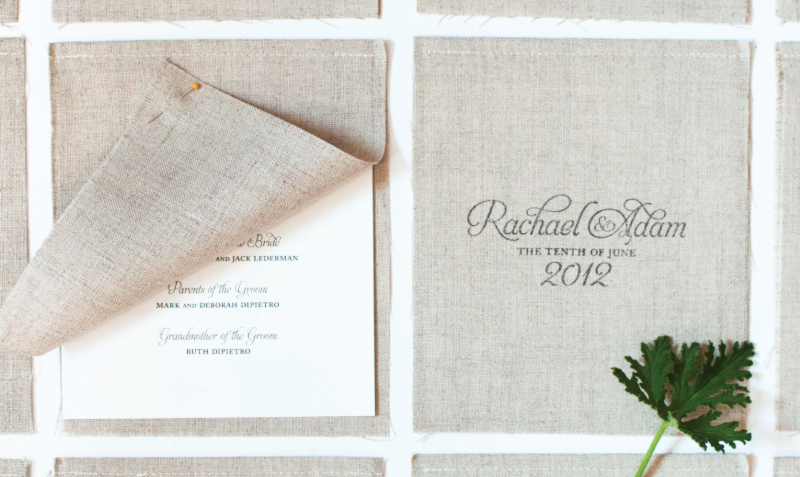 program-booklet-sewn-linen-custom-stamp-rustic-wesleyan-barn