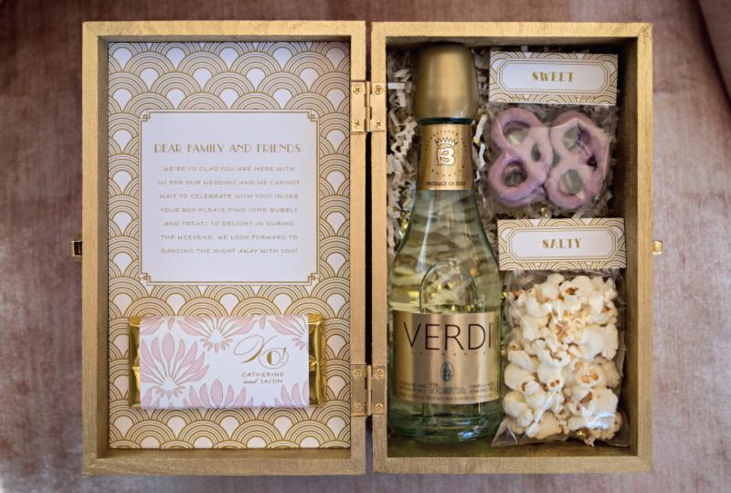 great-gatsby-art-deco-invitation-welcome-box-champagne