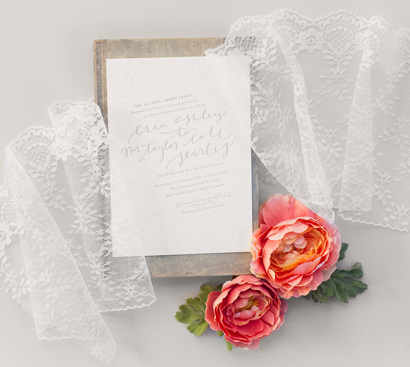 to see the gorgeous wedding in its entirety visit style me pretty also seen in the knot ny and featured on oh so beautiful paper - Coral And Grey Wedding Invitations