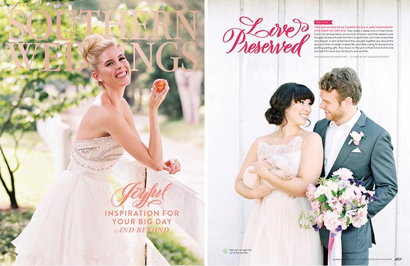Love Preserved | Southern Weddings V8