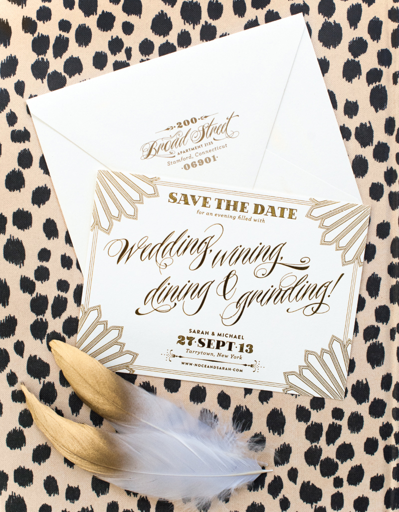 Blog Coral Pheasant – Winter Wedding Save the Dates
